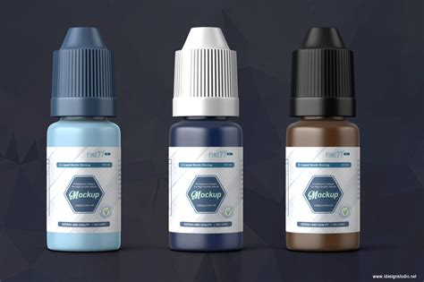 Mockups listed below you easily edit via smart object in photoshop. E-liquid Bottle Mockup on Behance