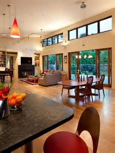 Patio And Deck Combo Ideas by Open Plan Kitchen Lounge And Dining Room