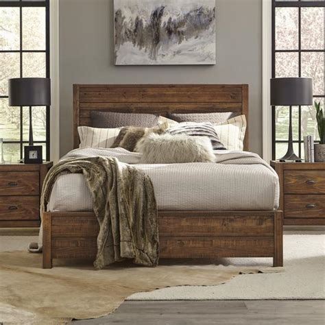 Free shipping for many products! Montauk QUEEN Size Solid Wood Bed - Grain Wood Furniture