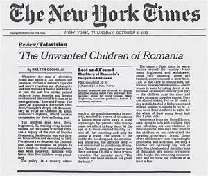 7 Best Images of New York Times Newspaper Articles - New ...
