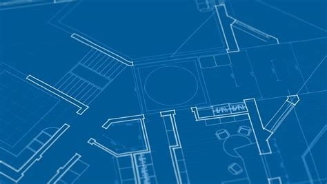 architecture house plan background stock footage video