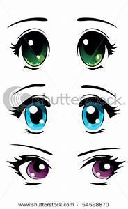 We Love Anime, Manga and Music: Anime Eye Designs