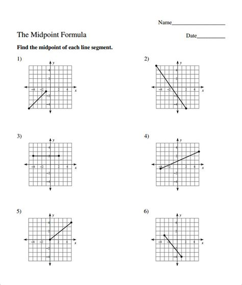 15 Coordinate Geometry Worksheet Templates  Free Pdf Documents Download  Free & Premium Templates