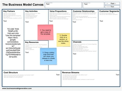 Business Model Canvas Template Business Model Canvas Template Docs