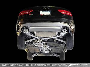 Awe Tuning Audi S5 Track And Touring Edition Exhausts