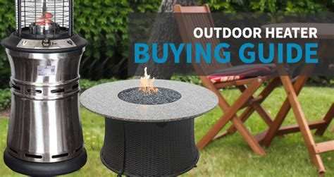 outdoor heater buying guide sylvane