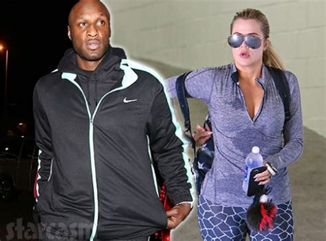 PHOTO Lamar Odom 'ambushed' Khloe Kardashian outside her ...