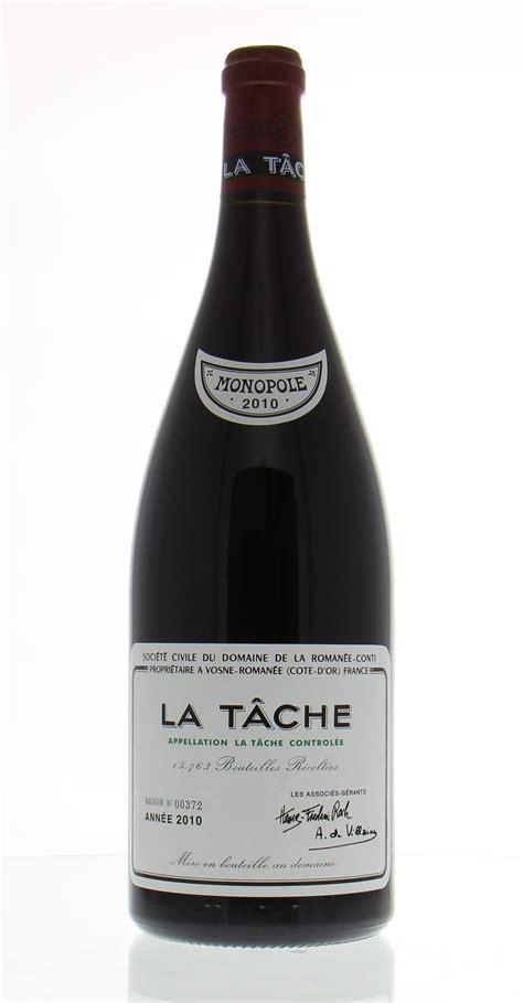 Best Of Wines  La Tache 2010domaine De La Romanee Conti