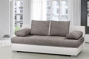 Schlafcouch Weiß Grau : design schlafsofa orlando federkern mit bettkasten schlafcouch sofa couch grau ebay ~ Markanthonyermac.com Haus und Dekorationen
