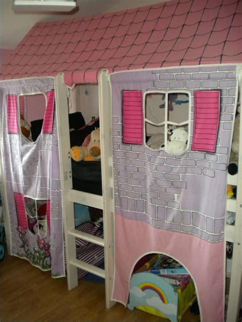 cabane de chambre lit mi hauteur cabane pour fille pas cher priceminister