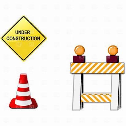 Construction Clip Clipart Under Road Zone Block