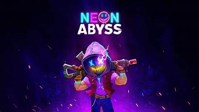 Neon Abyss Pc Resolution Wallpapers 1080p Laptop