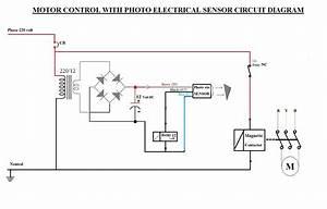 How Work Proximity Sensor Control Circuit