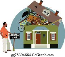vector art garage sale clipart drawing gg gograph