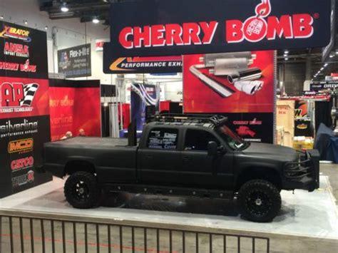 purchase  sema truck twin turbo duramax chevy