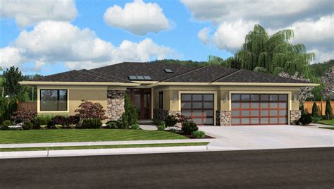 Contemporary House Plan 1245 The Riverside