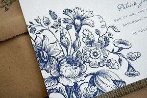 13 best images about blue toile on pinterest delft blue With delft blue wedding invitations