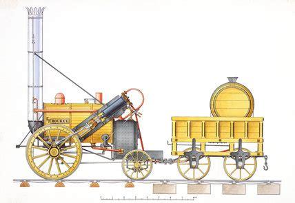Stephenson's 'Rocket' 1829 at Science and Society