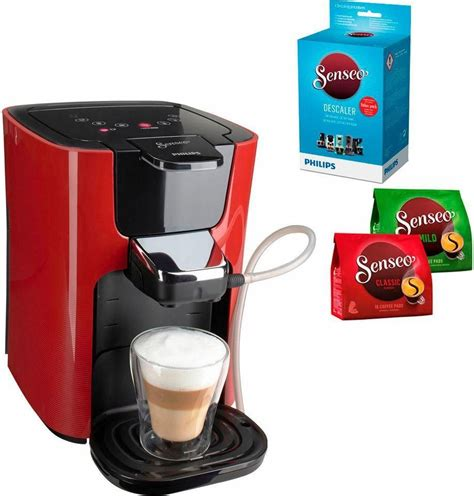 Senseo Kaffeepadmaschine SENSEO® LatteDuo HD785580, inkl