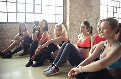 Yoga Woman Shorts Mat Pexels Friends Purple