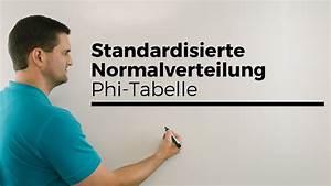 Wurzel Berechnen : standardisierte normalverteilung phi tabelle ablesen mathe by daniel jung youtube ~ Themetempest.com Abrechnung