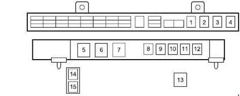Isuzu Series Fuse Box Diagram