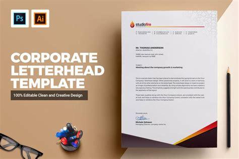 personalized creative letterhead template