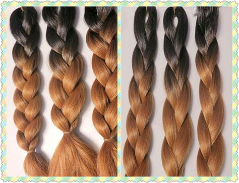China Cheap Price Faded Two Tone Ombre Black/brown Color X