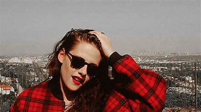 Kristen Stewart Gifs Classic Stereotypes Hair Plaid