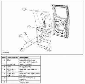 How Do I Remove The Interior Rear Passenger Interior Door