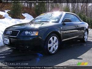 Cambridge Green Pearl - 2005 Audi A4 3 0 Cabriolet