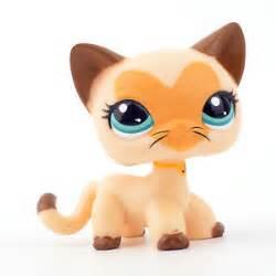 lps shorthair cats for 3573 littlest pet shop yellow siamese hair cat