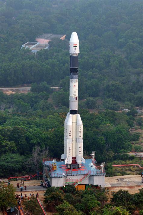 Photos: GSLV Rocket Rolls Out for GSAT-6A Launch - GSLV ...