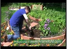 Build a Tiered Garden Circle Garden YouTube