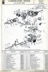 Weber Carburetor Diagram