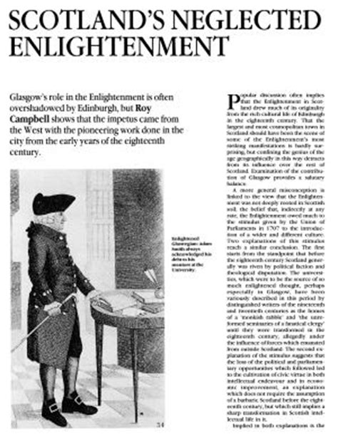 The Scottish Enlightenment Essays In by The Flowering Of Scotland History Today