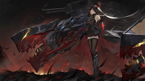 wallpaper friedrich der grosse azur lane video games