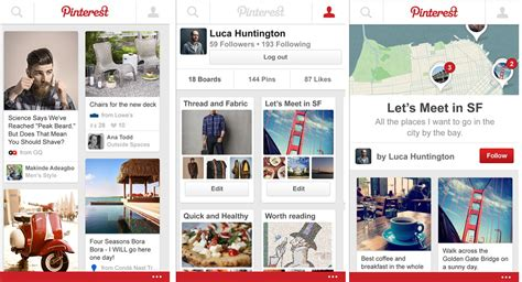 Pinterest Als Beta Im Windows Phone Store Deskmodderde