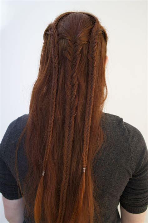 archer elven hairstyles images  pinterest