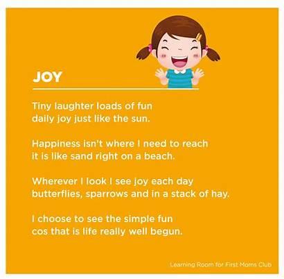 Emotions Poem Child Deal Way Firstmomsclub Mom