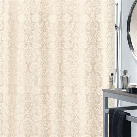 Dusche Mit Duschvorhang by Spirella Fortuna Satin Textil Duschvorhang Clevershower