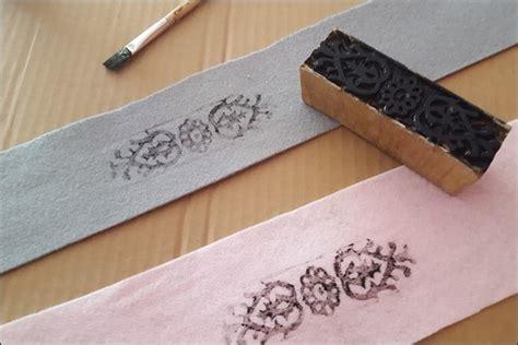 stempel selber basteln diy tutorial stempel selber machen handmade kultur stempel aus