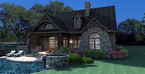 cottage craftsman tuscan house plan
