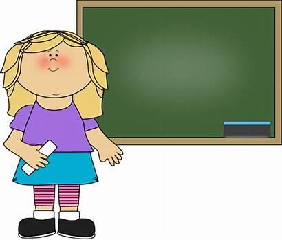 Clipart Chalkboard Whiteboard Standing Blackboard Teacher Clip