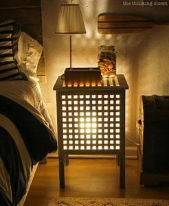 Nachttisch Mit Beleuchtung : mit diesen hacks wird dein schlafzimmer zu deinem lieblingsort ikea hacks pimps blog new ~ Markanthonyermac.com Haus und Dekorationen