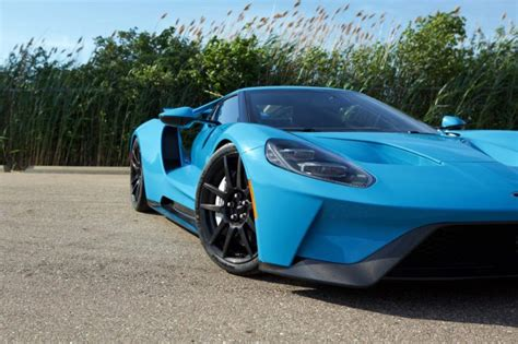 story   riviera blue  ford gt