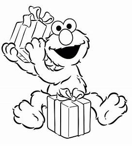 Elmo Christmas Coloring Pages   New Calendar Template Site