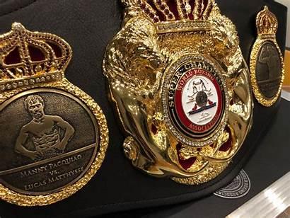 Belt Super Boxing Matthysse Special Pacquiao Association