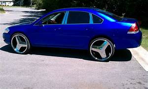 Chevrolet Impala Questions - will 24 inch iroc size 245/45 ...