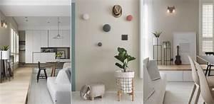Décoration Appartement Moderne : deco gris et blanc et bois ~ Nature-et-papiers.com Idées de Décoration